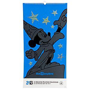 Walt Disney World Poster Calendar - 2013
