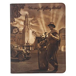 Walt Disney and Mickey Mouse Padfolio - Disney California Adventure