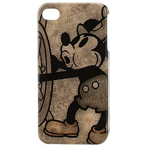 Mickey Mouse iPhone 4/4S Case - Steamboat Willie