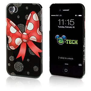 Minnie Mouse Bow iPhone 4/4S Case