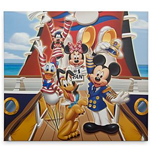 Captain Mickey Mouse and Friends Scrapbook Album - Disney Cruise Line