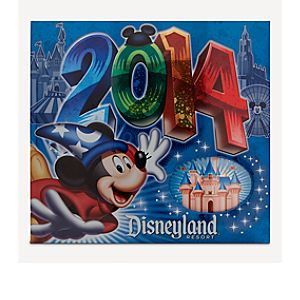 Sorcerer Mickey Mouse Photo Album - Disneyland 2014 - Medium