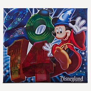 Sorcerer Mickey Mouse Scrapbook Album - Disneyland 2014 - Large