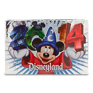 Sorcerer Mickey Mouse Photo Album - Disneyland 2014 - Small