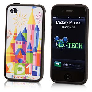 Disney Parks Castle iPhone 4/4S Case - 2014 - Limited Time Magic