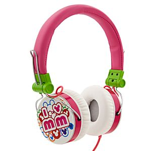 Mickey Mouse I Love MM Headphones