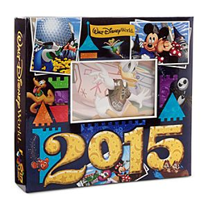Mickey Mouse and Friends Photo Album - Walt Disney World 2015 - Medium