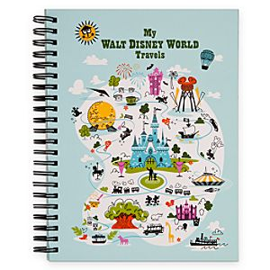 Walt Disney World Travel Journal for Kids