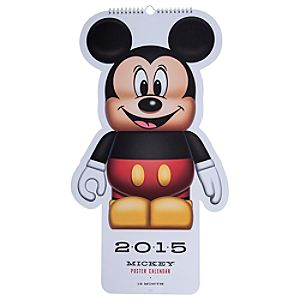 Vinylmation Mickey Mouse Poster Calendar 2015