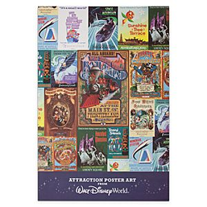Walt Disney World Attraction Poster Art Pack