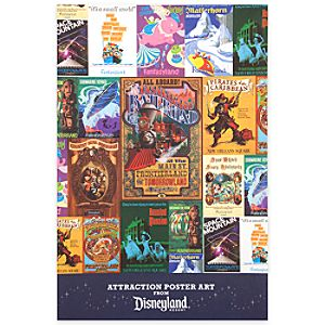 Disneyland Attraction Poster Art Pack