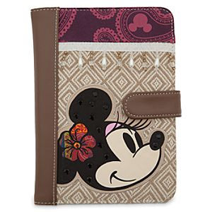 Minnie Mouse Bohemian Tablet Case - Small