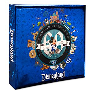 Mickey Mouse and Friends Photo Album - Disneyland Diamond Celebration - Medium