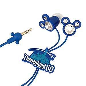 Mickey Mouse Icon Earbuds - Disneyland Diamond Celebration