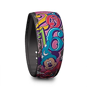 Sorcerer Mickey Mouse Disney Parks MagicBand - 2016 - Pink