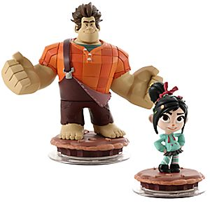 Disney Infinity Wreck-It Ralph Toy Box Pack - Wreck-It Ralph and Vanellope