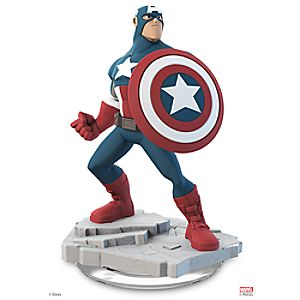 Captain America Figure - Disney Infinity: Marvel Super Heroes (2.0 Edition)
