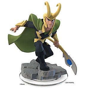 Loki Figure - Disney Infinity: Marvel Super Heroes (2.0 Edition)