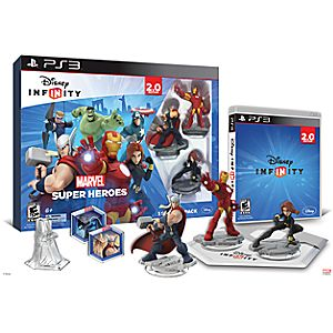 Disney Infinity: Marvel Super Heroes Starter Pack for PS3 (2.0 Edition)