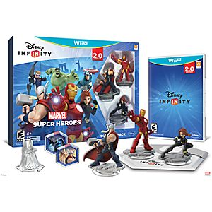 Disney Infinity: Marvel Super Heroes Starter Pack for Nintendo Wii U (2.0 Edition)