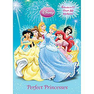 Perfect Princesses - Disney Princess Book to Color
