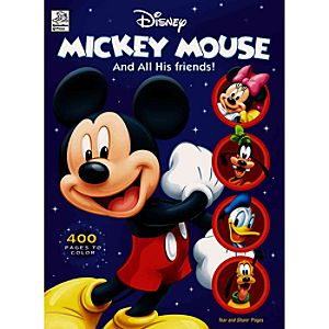 Mickey Mouse and All His Friends Coloring Fun Book