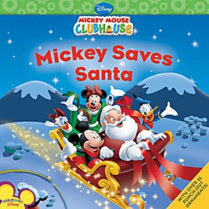 Mickey Saves Santa Book - Mickey Mouse Clubhouse