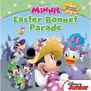 Minnie Easter Bonnet Parade Book - Mickey Mouse Clubhouse