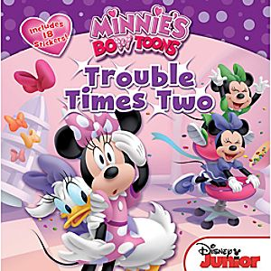Minnies Bow-Toons: Trouble Times Two Book