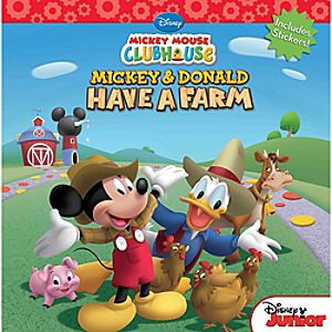 Mickey and Donald Have a Farm Book