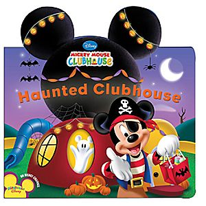 Haunted Clubhouse Book - Mickey Mouse Clubhouse