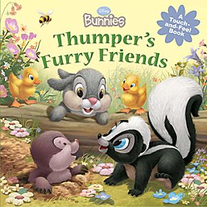 Thumpers Furry Friends Touch-and-Feel Book