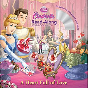 Cinderella Read-Along Storybook and CD - A Heart Full of Love