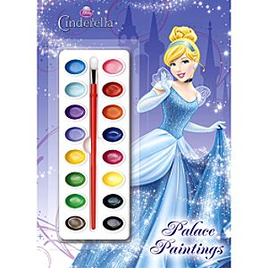 Cinderella Palace Paintings Book and Paint Set