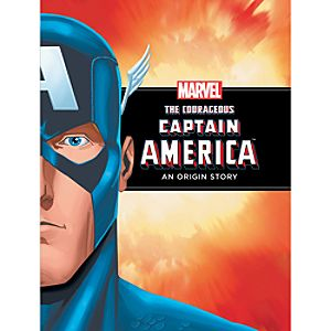 Courageous Captain America Book