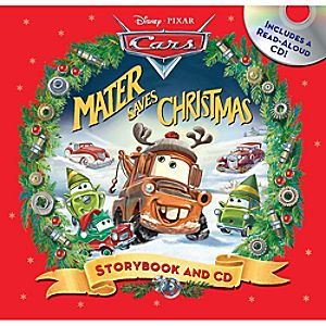 Mater Saves Christmas Read-Along Storybook and CD
