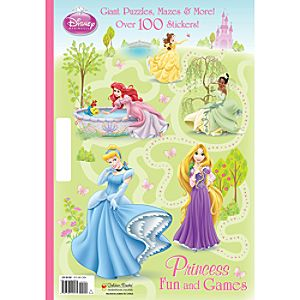 Princess Fun and Games Activity Book - Disney Princess