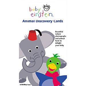 Baby Einstein Animal Discovery Cards Set