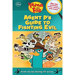 Agent Ps Guide To Fighting Evil Book - Phineas and Ferb