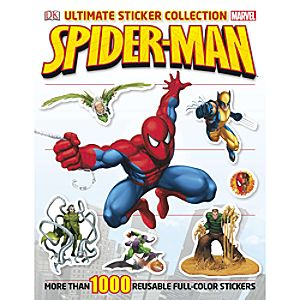 Spider-Man Ultimate Sticker Collection Book