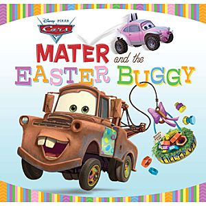 Mater and the Easter Buggy Book