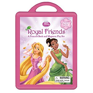 Royal Friends A Princess Book and Magnetic Play Set