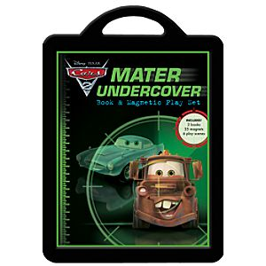 Mater Undercover Book and Magnet Play Set - Cars 2