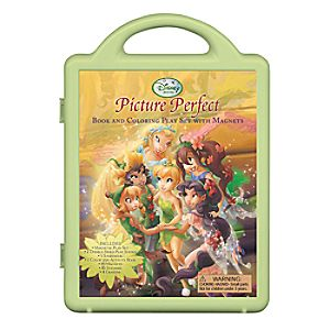 Disney Fairies Picture Perfect Book and Magnetic Play Set