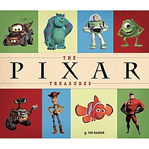 Pixar Treasures Book
