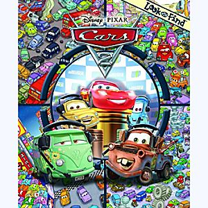 Disney Cars 2 Look and Find Book