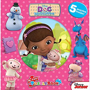Doc McStuffins My First Puzzle Book