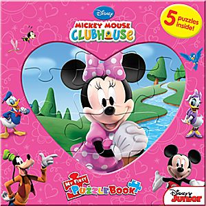 Mickey Mouse Clubhouse My First Puzzle Book