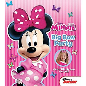 Minnies Big Bow Party Book