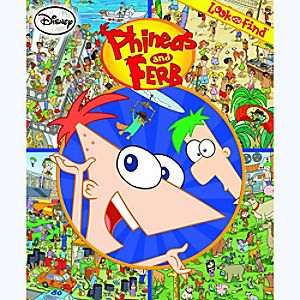 Phineas and Ferb Look and Find Book